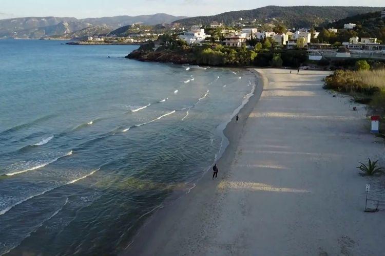 Almyros spiaggia