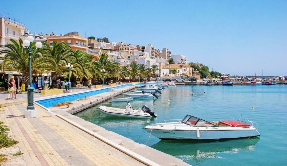 Siteia-port