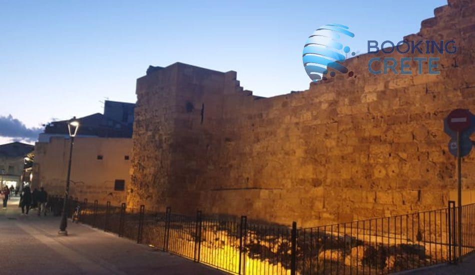 Chania walls