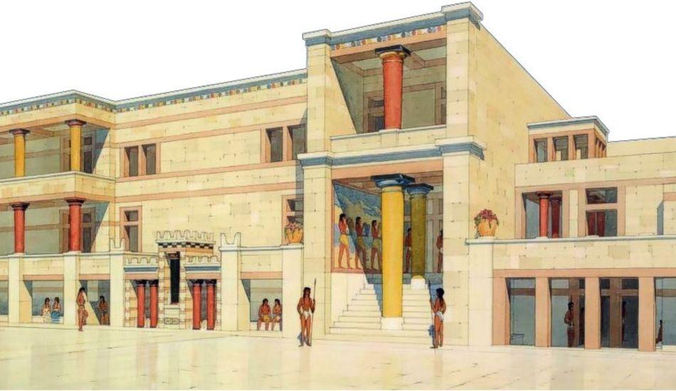 Knossos-Palais