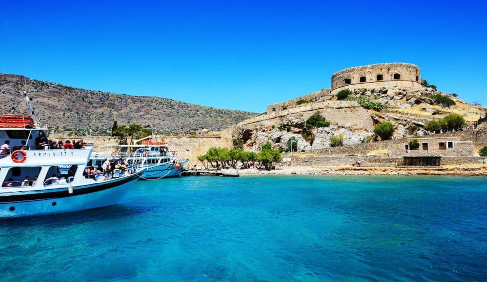 boat trip to spinalonga