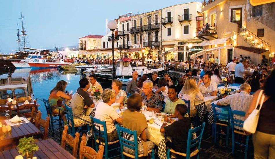 Rethymno small port