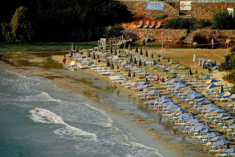 Where is almyros beach